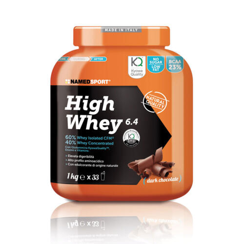 HIGH WHEY 6.4 dark chocolate